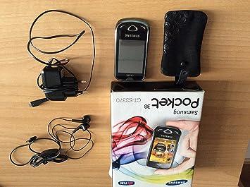 Calendrier Convertisseur.Samsung S3370 2 6 86 4 G Noir Sim Telephone Mobile Seule