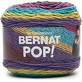 Bernat POP! Yarn (4) Medium Gauge 100% Acrylic - 5oz - Paisley - Garments and home decor projects Machine Wash & Dry