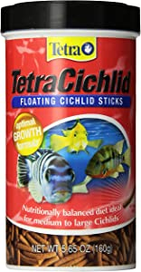 Tetra 16250 Cichlid Floating Cichlid Sticks, 5.65 oz