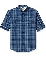 G.H. Bass & Co. Men's Explorer Sportsman Plaid Long Sleeve Shirt