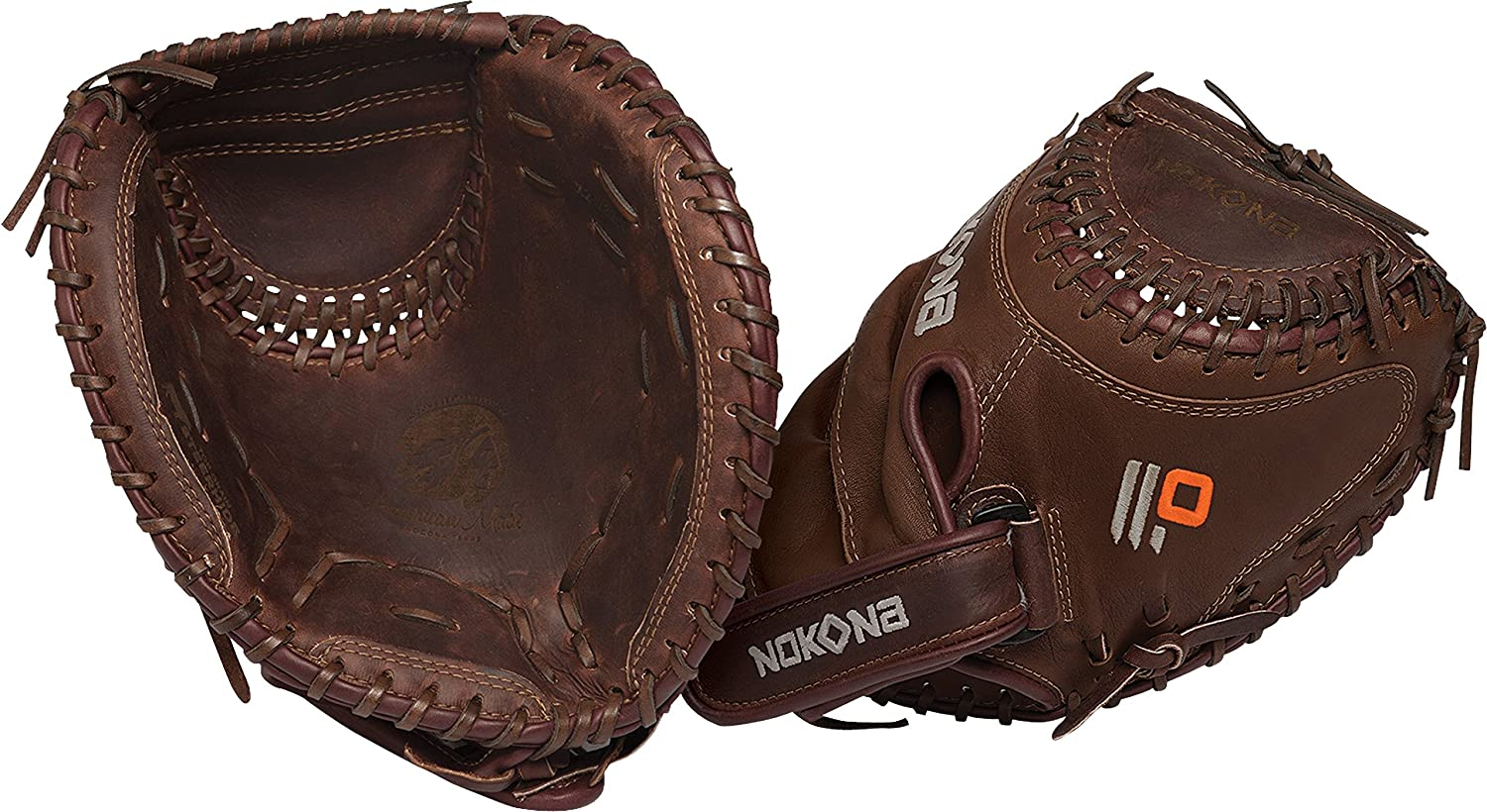 Nokona Legend Pro 32.5 Fastpitch Catchers Mitt L-V3250 L-V3250 FP
