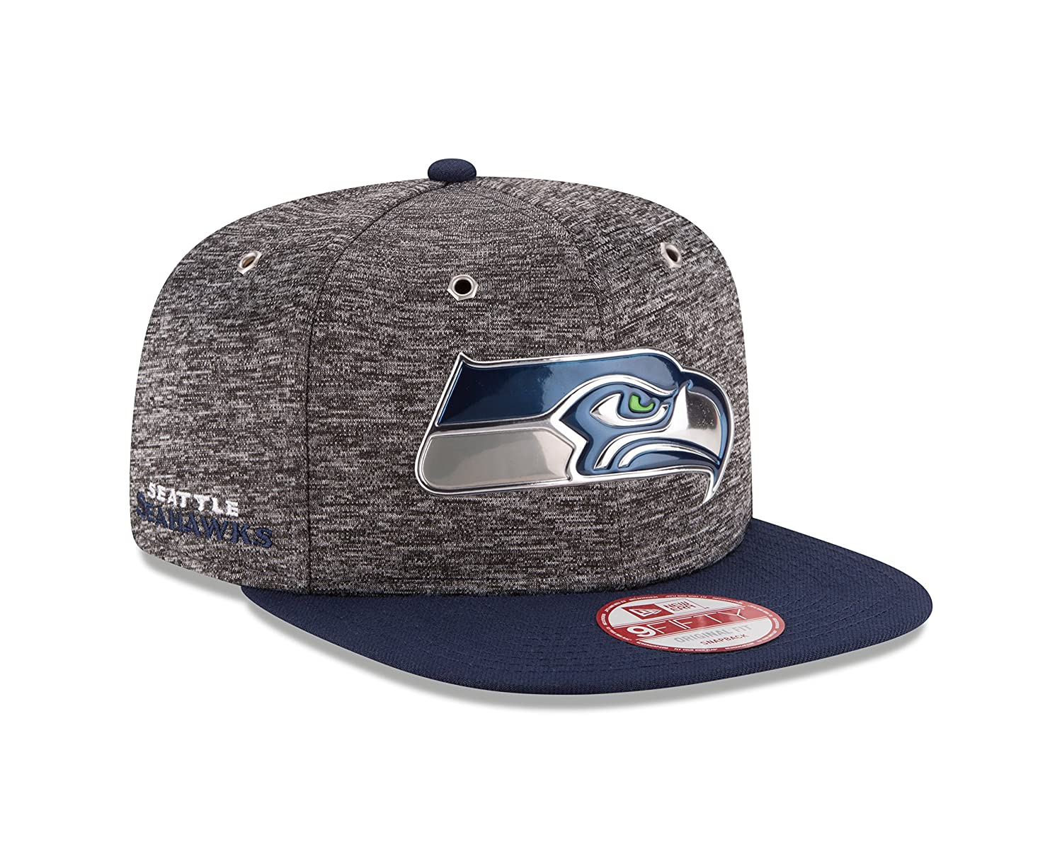 cae61af7f Amazon.com   New Era NFL Seattle Seahawks 2016 Draft 9Fifty Snapback ...