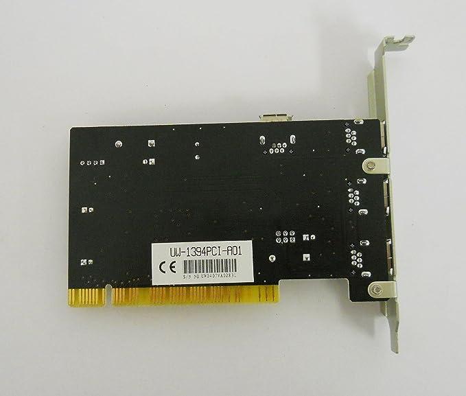 Amazon.com: SYBA – Tarjeta Firewire IEEE 1394 a 4 puertos ...