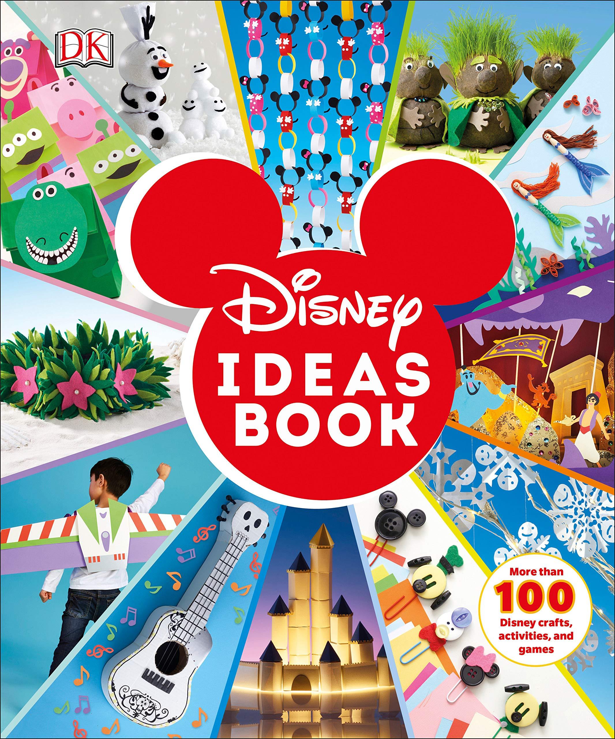 amazon disney ideas book more than 100 disney crafts activities