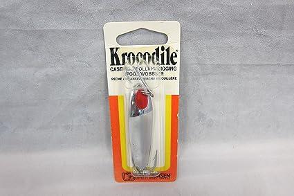 Jigging /& Trolling Spoon Luhr-Jensen Krocodile Spoon w// Treble Hook 2 1//2 oz