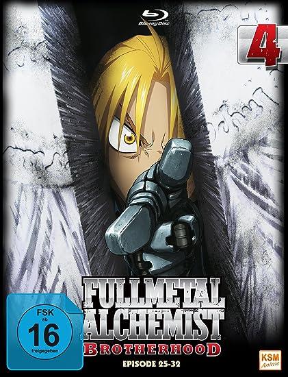 Fullmetal Alchemist: Brotherhood - Volume 4 Digipack im Schuber mit Hochprägung und Glanzfolie 2 Disc Set Blu-ray Limited Edition Alemania: Amazon.es: -, Yasuhiro Irie, -: Cine y Series TV