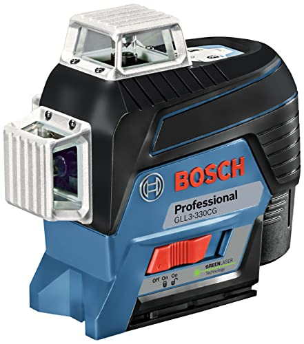 Best Laser Line Level For Outdoor Use: Bosch GLL3-330CG