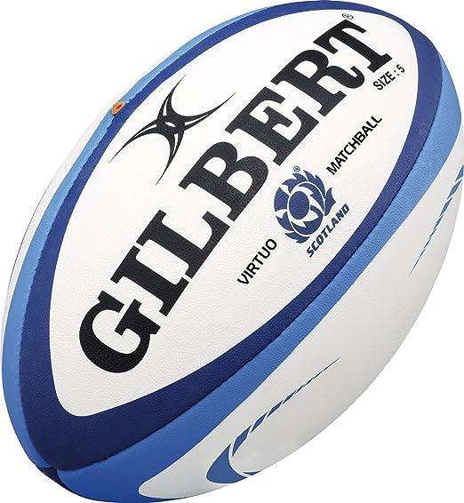 Gilbert - Pelota de Rugby Unisex de Escocia XV, Multicolor, Talla ...