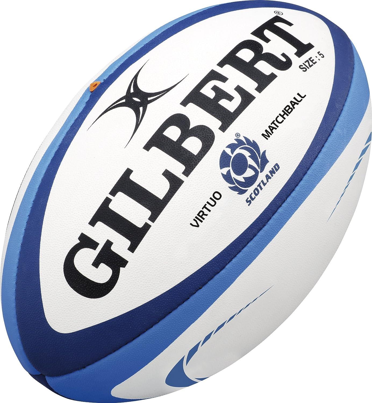 Gilbert - Pelota de Rugby Unisex de Escocia XV, Talla 5: Amazon.es ...