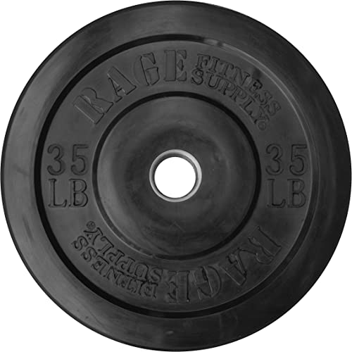RAGE Fitness Olympic Bumper Plate SOLD INDIVIDUALLY