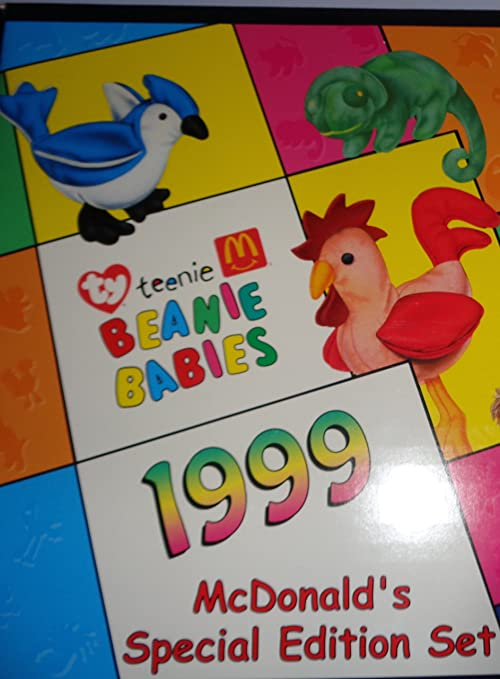 Amazon.com  Ty Beanie Babies - 1999 Complete SET of 12 McDonald s TY BEANIE  Babies  Toys   Games f895009085fe