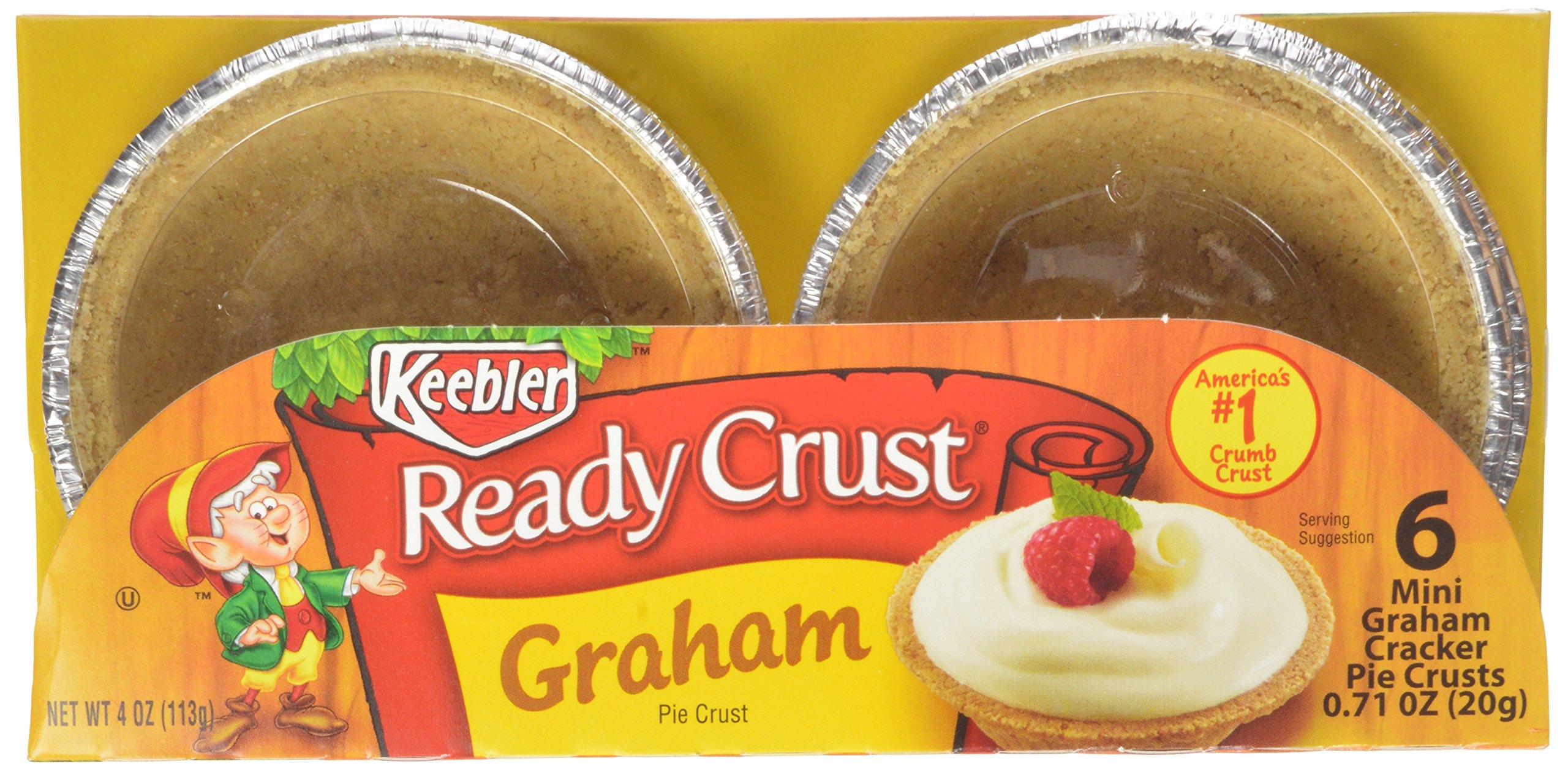 Keebler - Ready Crust - Mini Graham Cracker Crusts - 6 Ct - 4 Oz (Pack of 6)