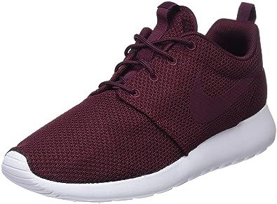 Nike Men's Nike Roshe One Retro Running Shoes (Night Maroon) (Uk ...