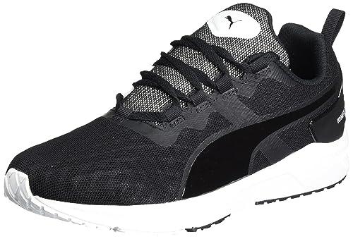 Mens Puma Ignite Xt V2 Black White Blue Running Shoes Z69225