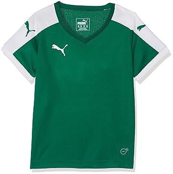 info for edc71 72b55 Puma Pitch Fußballtrikot Kinder grün / weiß, 116 - XS ...