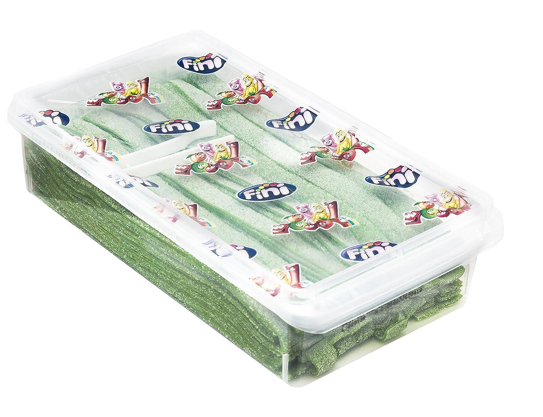 Watermelon Sour Belts 3.5 Pound Box - 200 Pieces