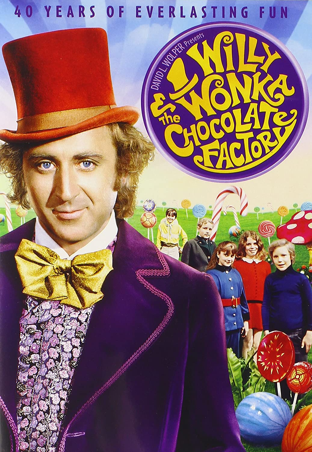 willy wonka and the chocolate factory 40th anniversary edition willy wonka and the chocolate factory 40th anniversary edition import ca gene wilder jack albertson peter ostrum roy kinnear denise nickerson