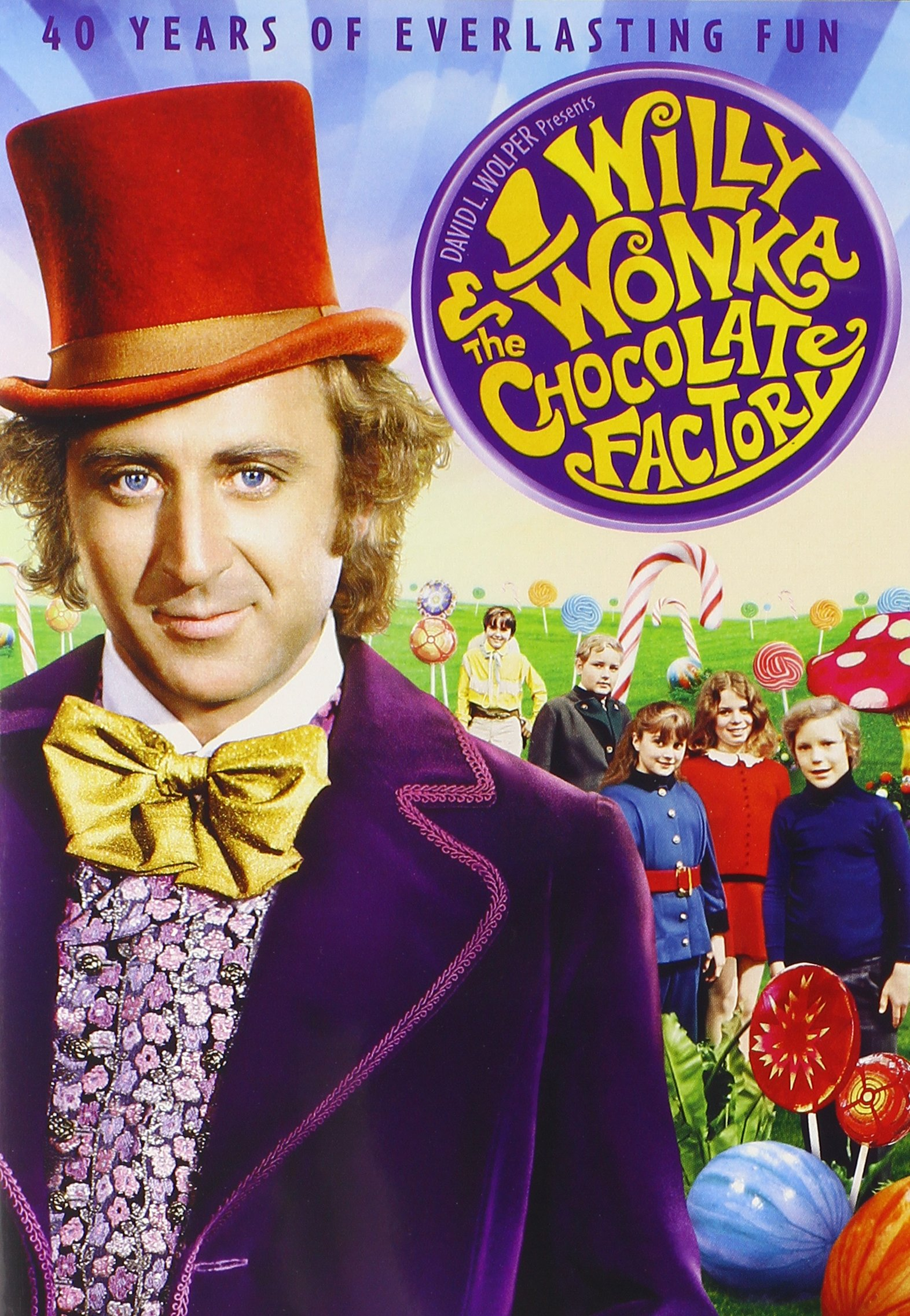 DVD : Willy Wonka & the Chocolate Factory (Anniversary Edition)
