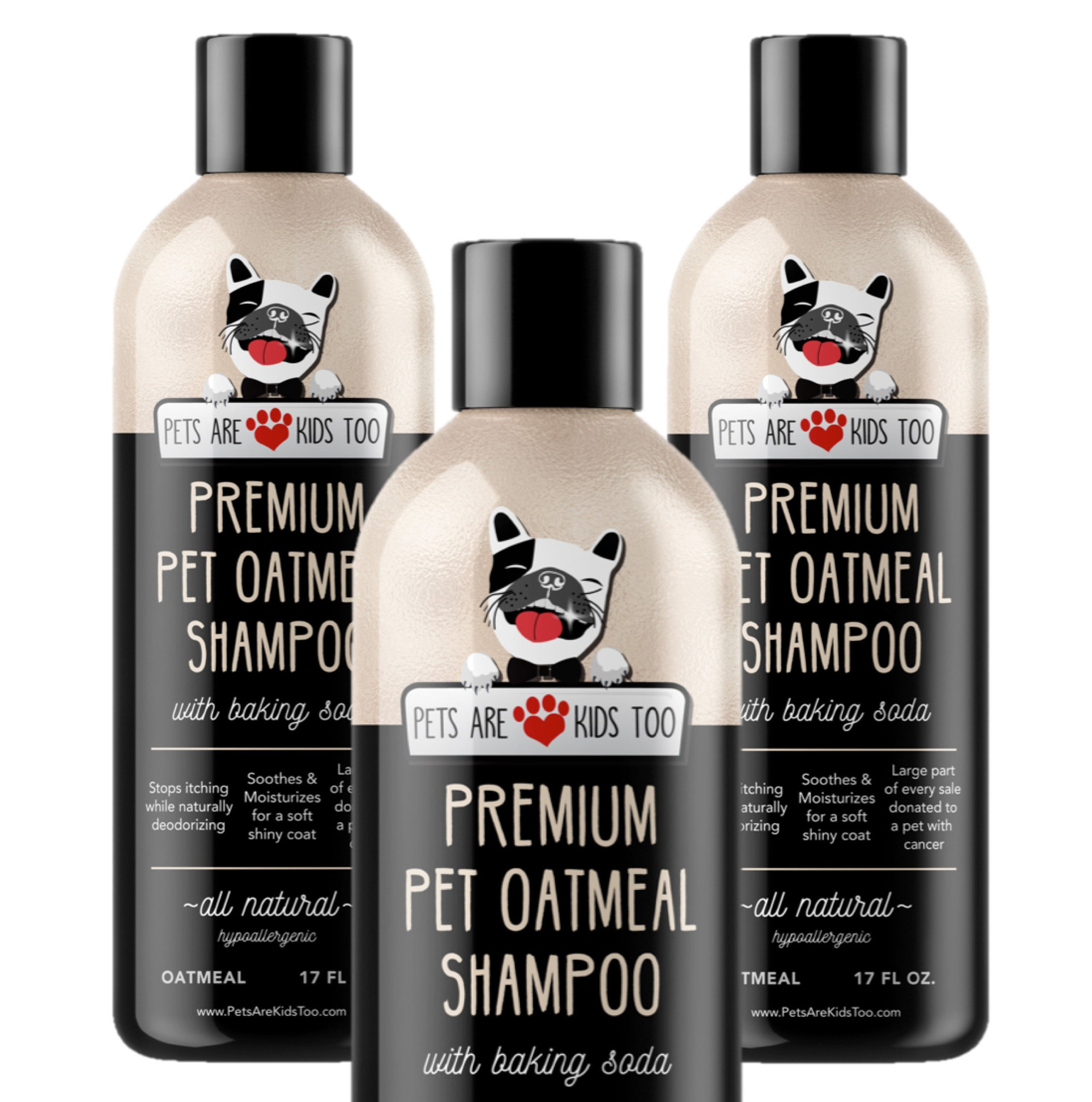 Pets Are Kids Too Pet Oatmeal Anti-Itch Shampoo & Conditioner (3 Pack)