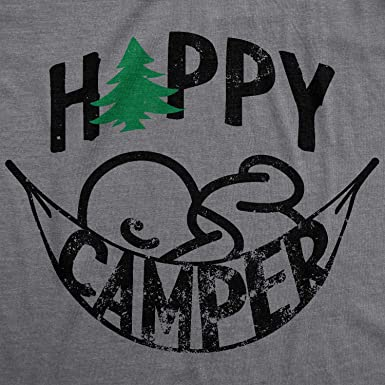 a115fd3ed Maternity Happy Camper Tshirt Cute Pregnancy Cool Outdoors Baby Bump Tee  (Heather Grey) at Amazon Women's Clothing store: