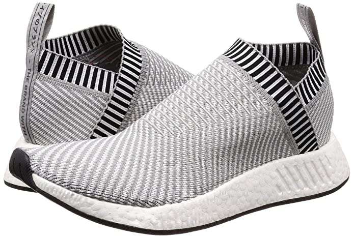 04fa7a2dc2a52 ... Primeknit (Solid Grey Running White Shock Pink  Amazon.com adidas  Originals NMD CS2 PK Mens Running Trainers Sneakers (US 10.5