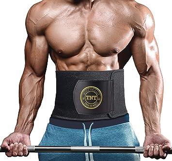 fa62ba8fe9 TNT Pro Series Waist Trimmer Weight Loss Sweat Belt - Premium Ab Wrap and  Waist Trainer