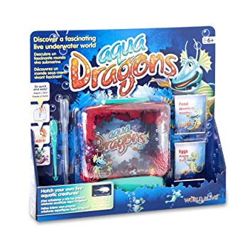 Aqua Dragons Mundo Submarino Juguete Educativo World Alive W4001: Aqua Dragons Underwater World: Amazon.es: Juguetes y juegos