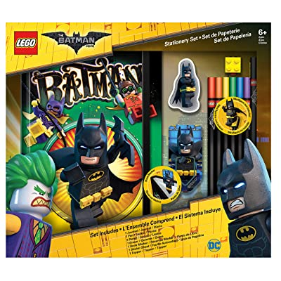 IQ Lego Batman Movie Stationery Boxed Set with Journal: Toys & Games