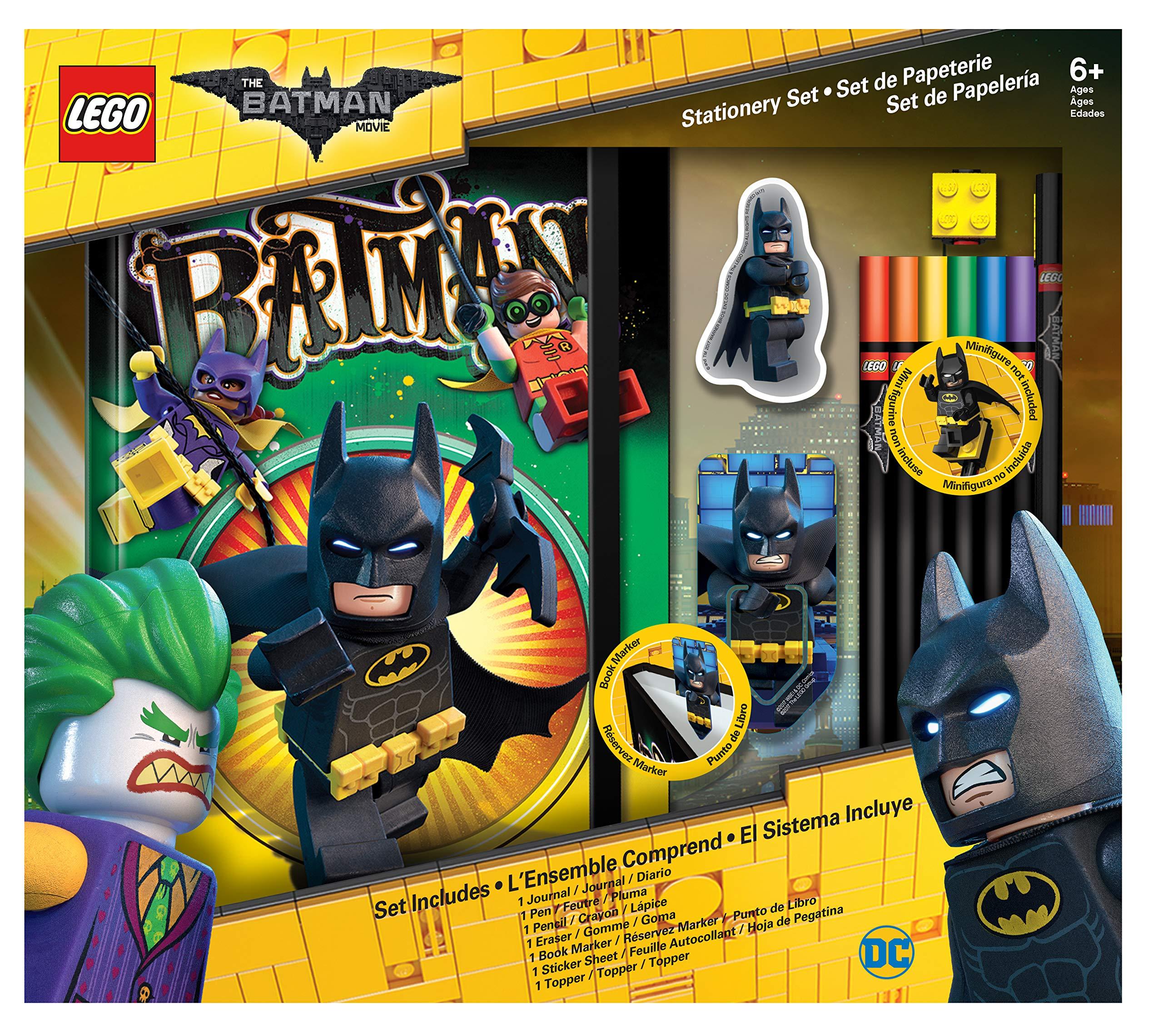 LEGO Batman Movie Journal and Stationery Set by LEGO
