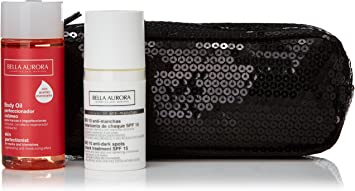 Bella aurora bio 10 antimanchas 30 ml+body oil pack nv14: Amazon.es: Belleza