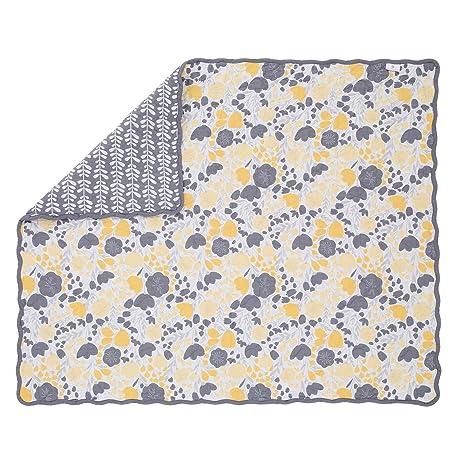 Amazon.com : Yellow Tulip 3 Piece Baby Crib Bedding Set - Skirt ...