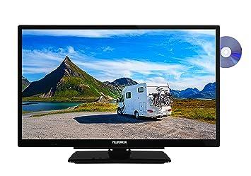 862fb87f7f Telefunken XH24G101VD 61 cm (24 Zoll) Fernseher (HD-ready, Triple Tuner
