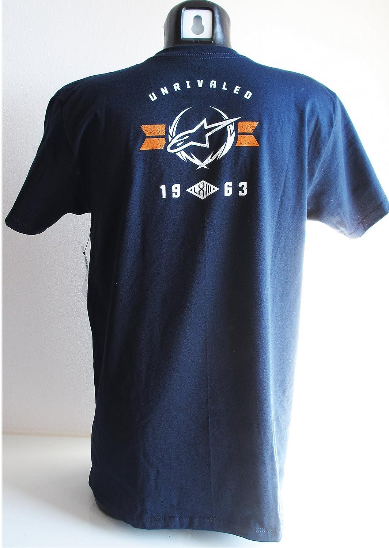 Alpinestars Men's T-Shirt Navy