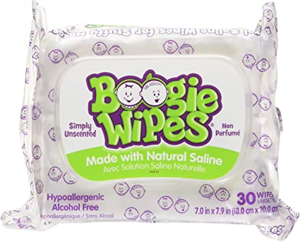 Pack of 6 Boogie Wipes Boogie Wipes 30 Count