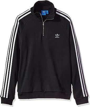 Half Zip Sweatshirt, Black