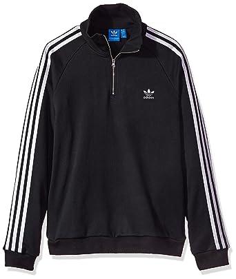 d4d61cb2c61 adidas Originals Women s Outerwear Half Zip Sweatshirt