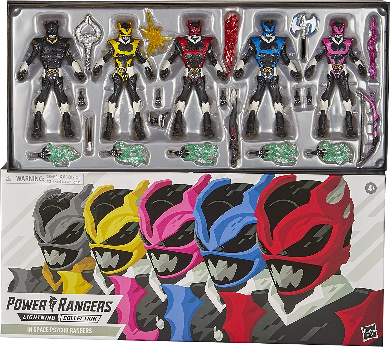 "Hasbro 2020 Power Rangers Lighting Collection Psycho Rangers 6/""Figure exclusive"