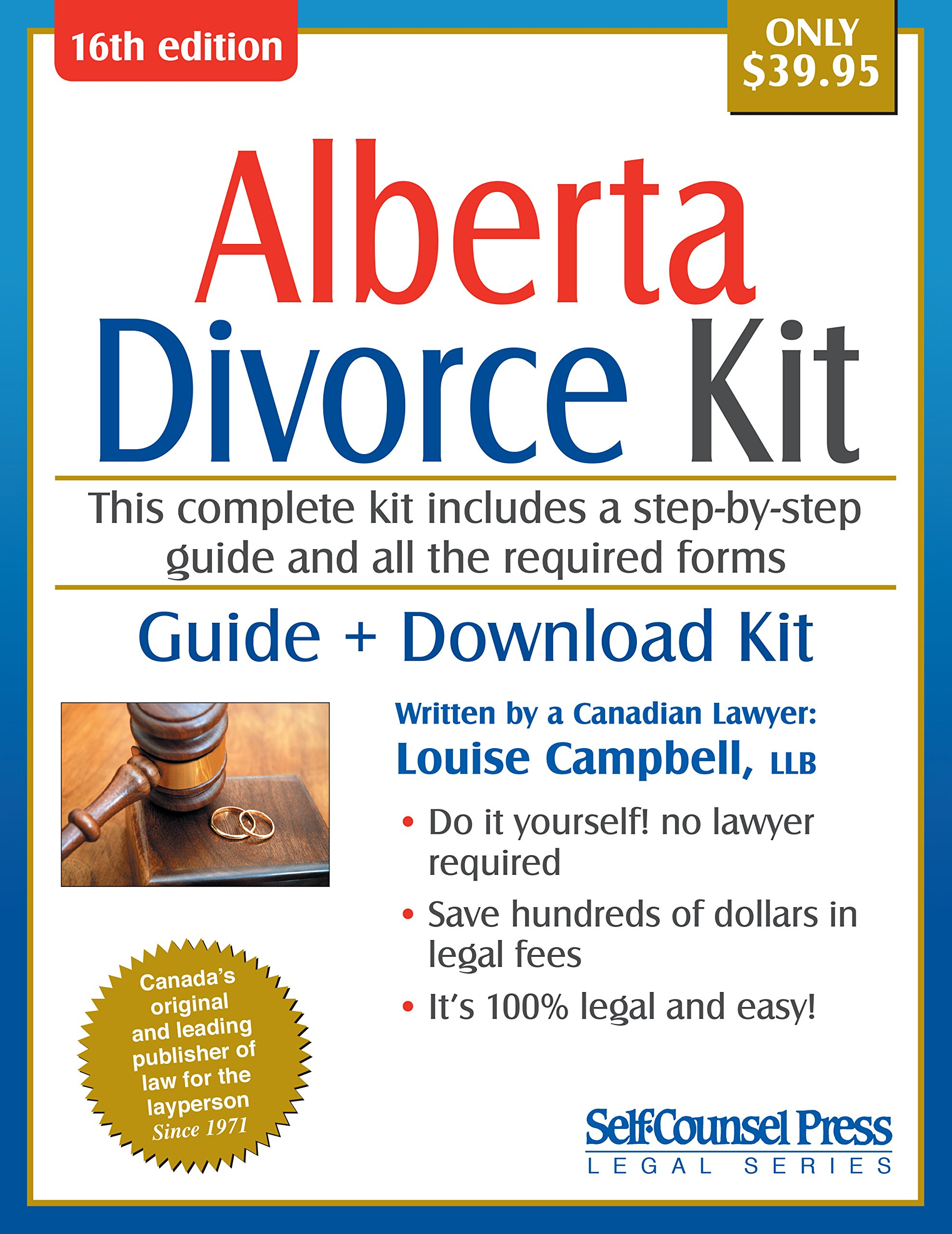 Divorce kit for alberta guide download kit alison sawyer divorce kit for alberta guide download kit alison sawyer 0069635806289 books amazon solutioingenieria Image collections