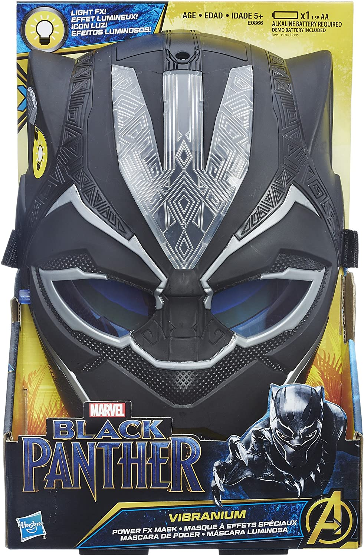 HASBRO Marvel Avengers Black Panther Vibranium Electronic Light-up F//X Mask  NEW