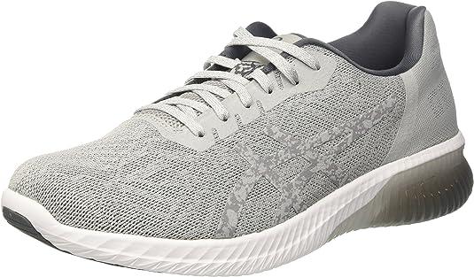 Asics Gel-kenun, Zapatillas de Gimnasia para Hombre, Gris (Mid Grey/Mid Grey/Carbon), 44 EU: Amazon.es: Zapatos y complementos