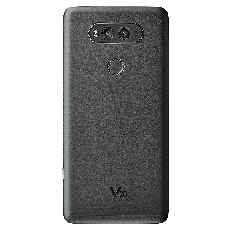 LG V20 64GB US996 Unlocked GSM/CDMA 4G LTE Quad-Core Phone w/Dual Rear  Camera (16MP+8MP) - Titan