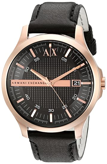 c40d83b47e3e Buy Armani Exchange Black Dial Analogue Men s Watch AX2129 Online at Low  Prices in India - Amazon.in