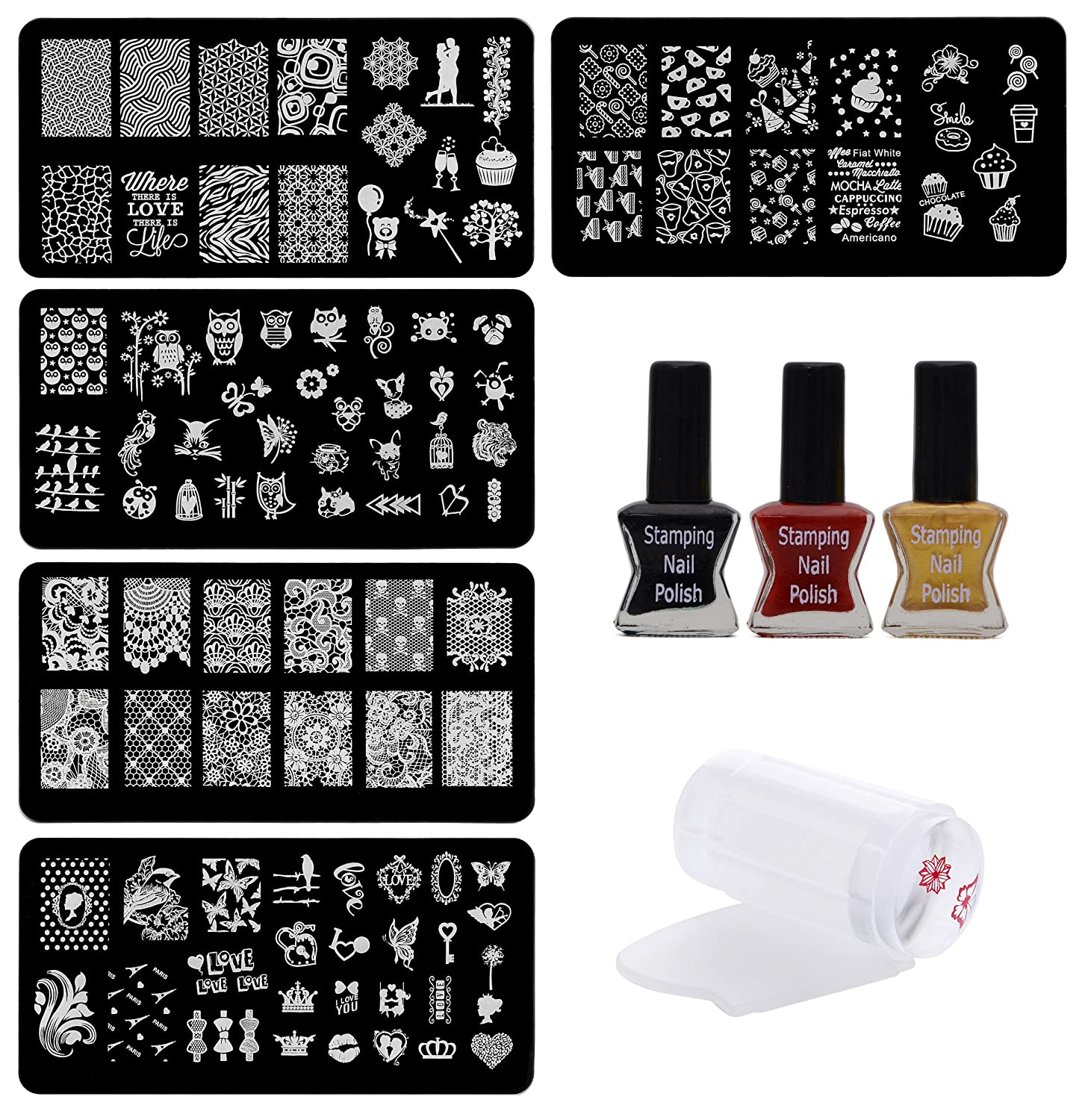 Gifts for Women - Nail Stamping Kit
