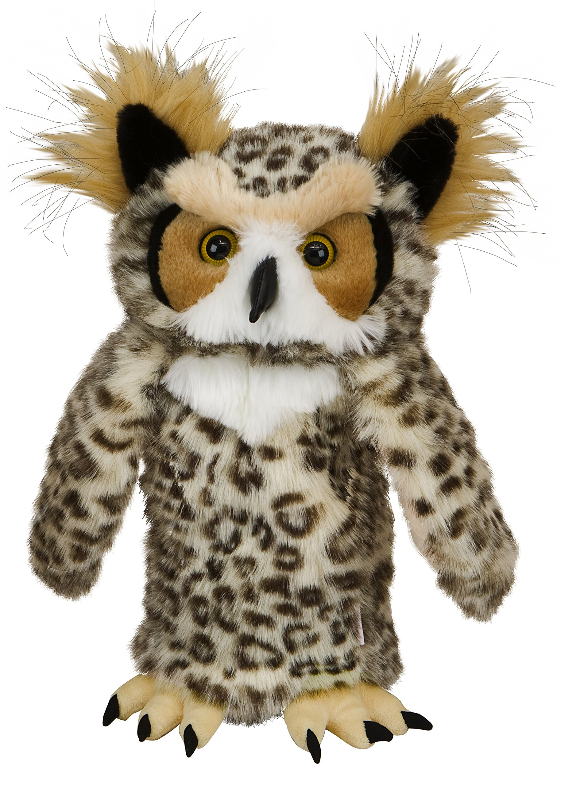 Oversized Great Horned Owl Golf Head Cover
