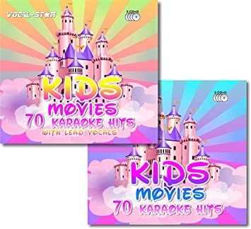 Vocal Star Kids Movies Karaoke Disc Set 6 CDG CD G Discs Including 140 Songs 70 With Lead Vocals From Popular Disney Films By Amazoncouk Music