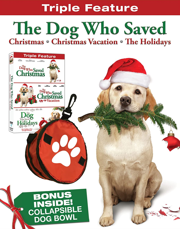The Dog Who Saved Christmas.Amazon Com The Dog Who Saved Christmas Triple Feature W