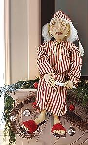 GALLERIE II Ebenezer Scrooge Joe Spencer Gathered Traditions Art Doll Red