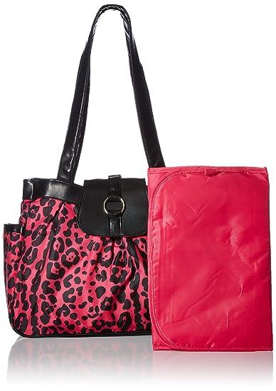 Amazon.com: Tender kisses Cheetah Print – Bolso cambiador ...