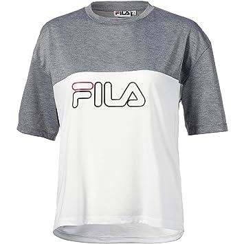 FILA Damen T-Shirt grau XS: Amazon.de: Sport & Freizeit