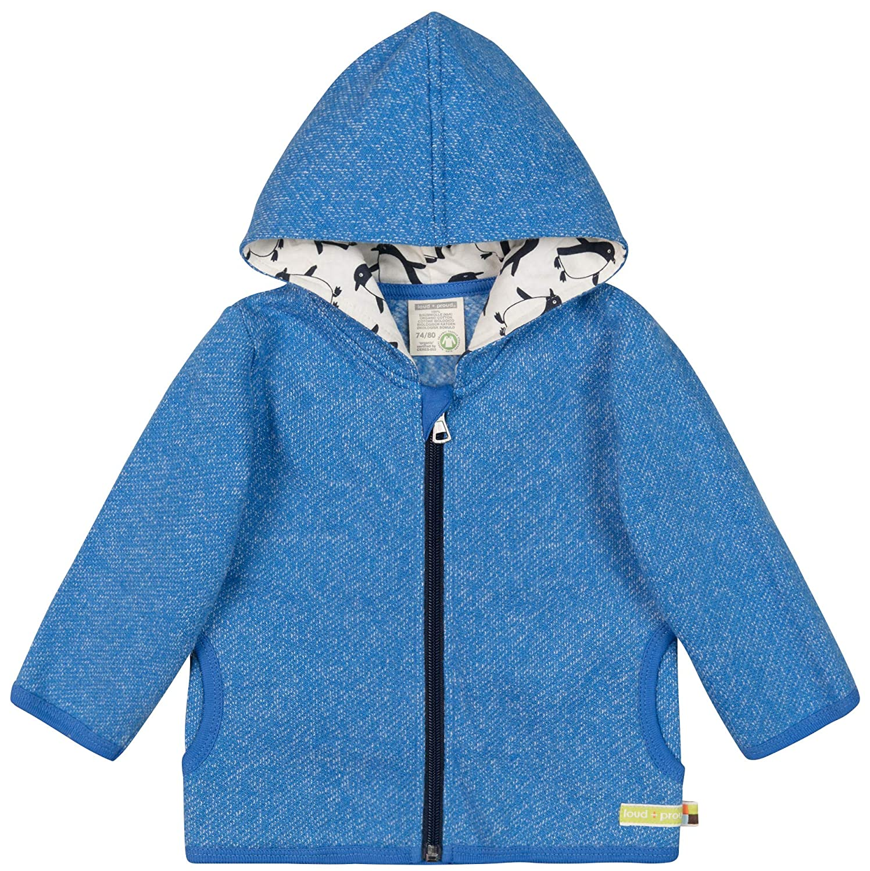 loud Gots Zertifiziert Sudadera para Beb/és proud Jacke In Melange Strick Aus Bio Baumwolle